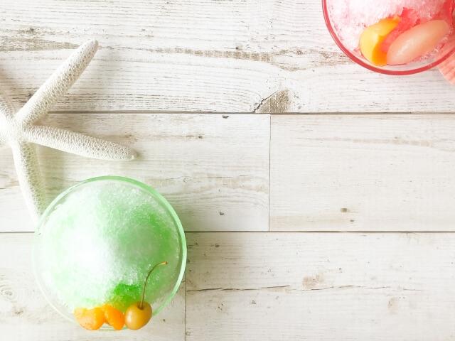 かき氷を食べるならオリジナルシロップ