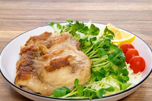 鶏肉料理の写真